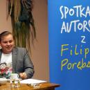 Spotkanie autorskie z Filipem Porębskim
